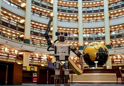 Millet Kütüphanesi Yapay Zeka Robot